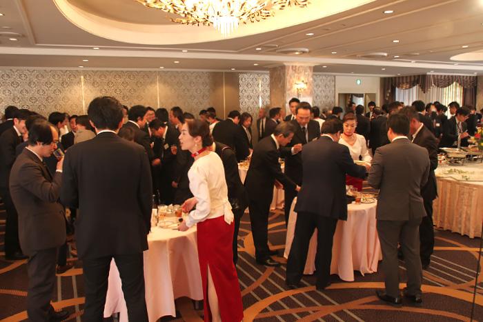 イベント 平成30年新年賀詞交歓会 サラセーヌ工業会
